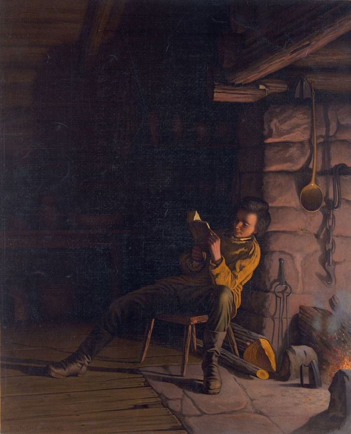 800px-lincoln-as-a-boy-reading-at-night
