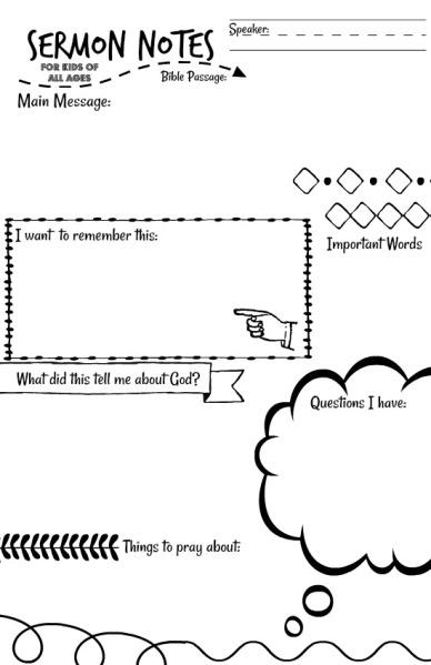 sermon notes1
