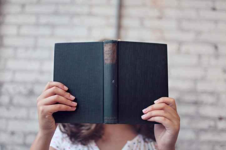 blur book girl hands